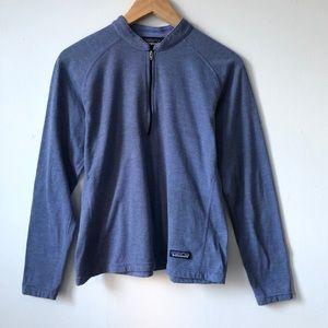 Patagonia women's 1/4 zip pullover shirt
